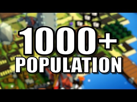 1000+ POPULATION KINGDOM! | Kingdoms and Castles [ALPHA 4.2] Kingdoms and Castles Gameplay!