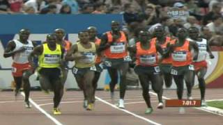 Bekele beats Lagat again - from Universal Sports