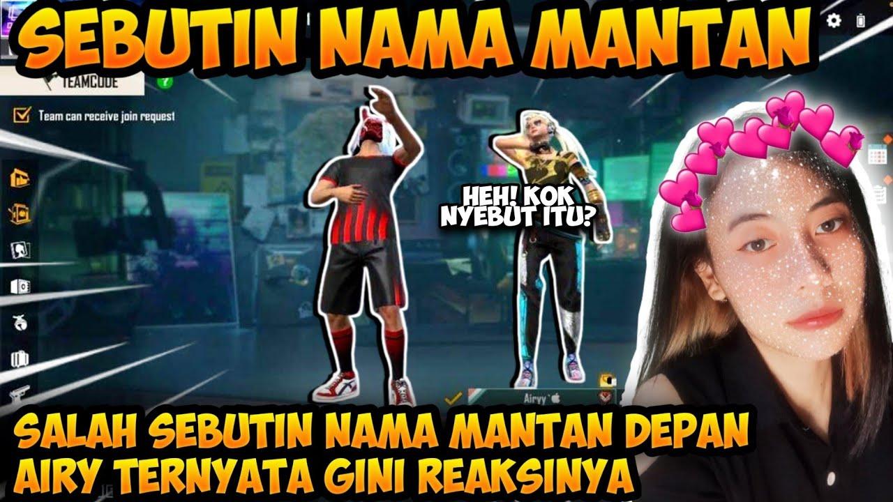 SEBUTIN NAMA MANTAN PACAR DEPAN AIRY AUTO NGAMUK PARAH HAHA!!