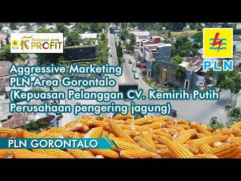 Aggressive Marketing PLN Area Gorontalo (Kepuasan Pelanggan CV. Kemiri Putih)