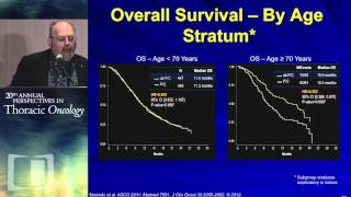 Optimal therapy for special populations (elderly and PS2 patients)