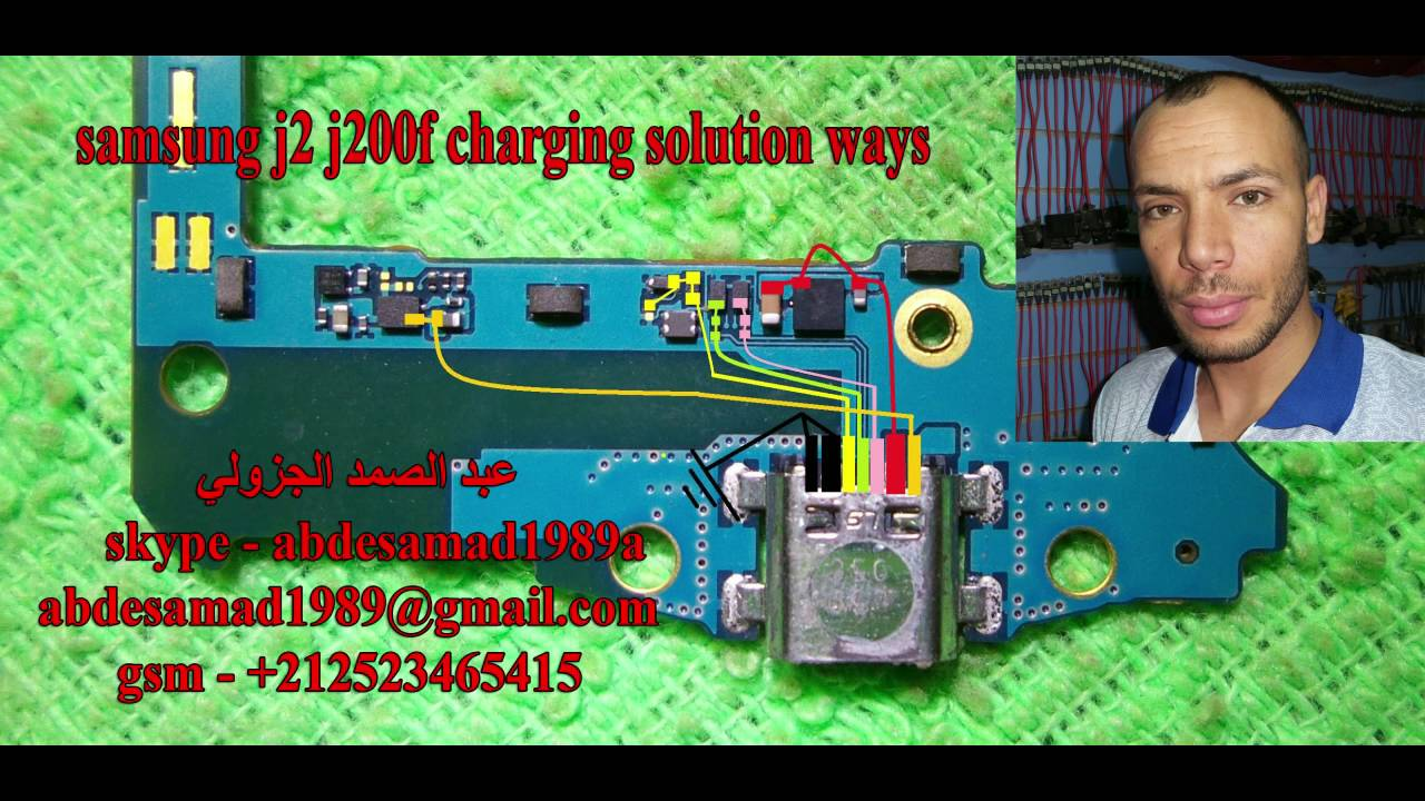 U202b U0645 U0633 U0627 U0631 U0627 U062a  U0627 U0644 U0634 U062d U0646 Samsung J2 J200f Charging Solution Ways
