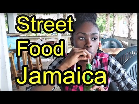 Jamaican street food rasta pattys fish market jerked for Jamaica fish market