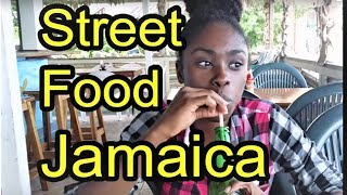 Jamaican Street Food Rasta Pattys Fish Market & Jerked Chicken in Jamaica