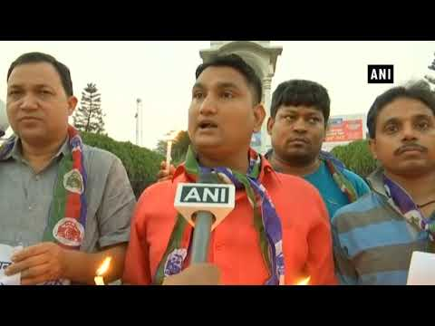 Amritsar train accident: Ramleela artists hold candle light protest for victims