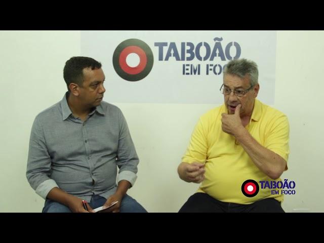 Entrevista com Buscarini, ex-prefeito de Taboão da Serra