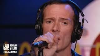 """Velvet Revolver """"Slither"""" Acoustic Performance on the Stern Show (2004)"""