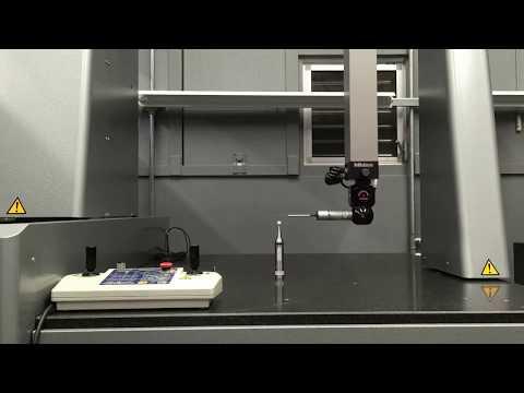 ミツトヨ三次元測定機 キャリブレーション