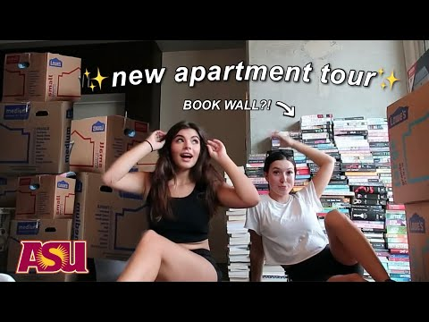 I MOVED TO COLLEGE!!! — studio apartment tour & move in with me!
