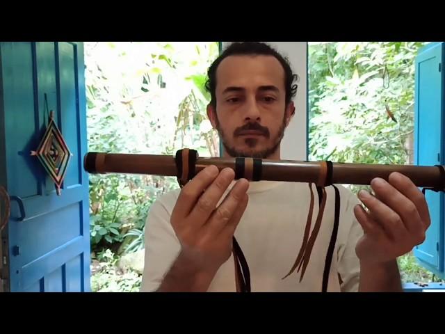 Improviso Flauta Nativa River Cane A