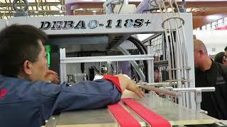 High Speed paper cup machine 185 pcs per minute. Production Speed 130-140 pcs/m