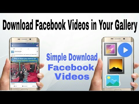 Download Facebook Videos in Your Gallery and MX Player ( Simple Way )