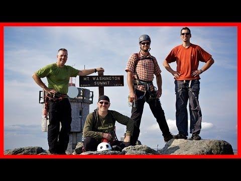 Rock Climbing Trip - Mount Washington New Hampshire USA - September 14th, 2012