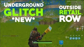 *NEW* Fortnite Underground Glitch Found Near Retail Row!!!
