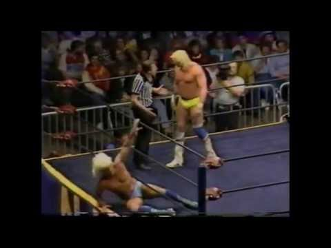 Barry Windham vs Ric Flair - Crockett Cup 1987 Full Match