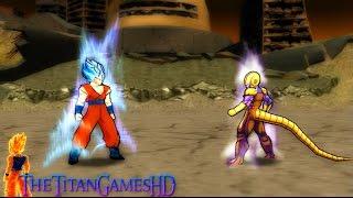 Dragon Ball Z Shin Budokai 2 - Goku Ssj God Blue 2 Vs Cooler Gold