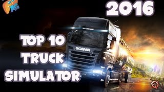 Top 10 Best Truck Simulator Android iOS Games 2016! [AndroGaming]