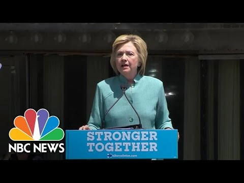 Hillary Clinton Slams Donald Trump's Business Record In Atlantic City | NBC News