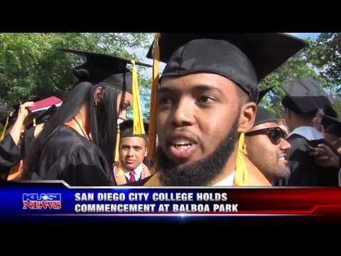 KUSI-SD: San Diego City College Holds Commencement