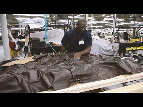 BEHIND THE SEAMS: ETHAN ALLEN UPHOLSTERY