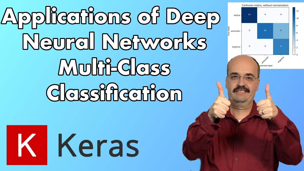 5 2: Multiclass Classification for Deep Neural Networks, Keras and  TensorFlow (Module 5, Part 2)