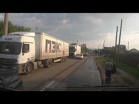 Нижнеудинск, наводнение, проезд через город