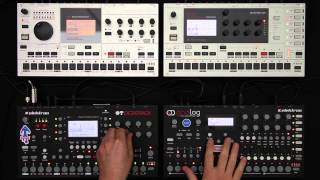 Elektron Jam Session 1: Analog Four, Octatrack, Machinedrum & Monomachine