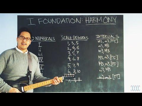 """Diatonic Harmony (Vertical)"" - WARRENMUSIC Series - Harmony Module - Episode 04"