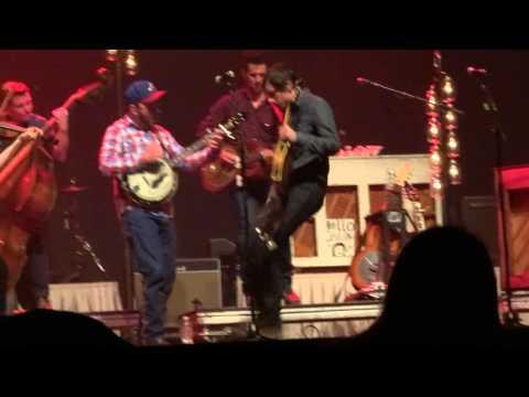 2014-02-28, Old Crow Medicine Show, Fairfax (VA), Cocaine Habit - Tell It To Me