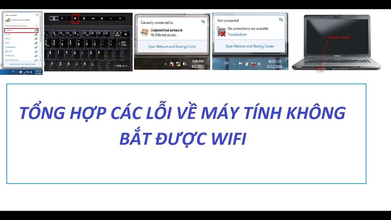 Cách Khắc Phục Máy Tính Laptop Không Kết Nối Được Wifi