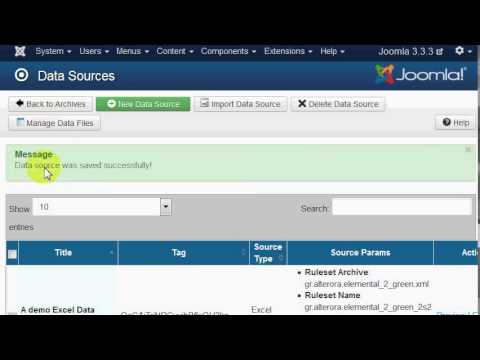 Import An Excel File Into A Joomla Article Dynamically