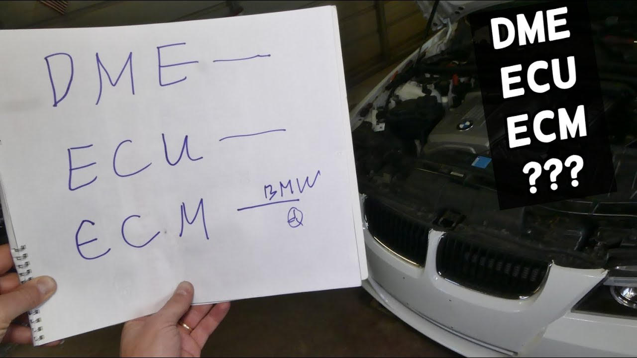 WHAT IS DME ECU ECM? DIFFERENCE BETWEEN DME, ECU, ECM