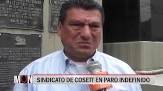 01/12/2015-18:50 SINDICATO DE COSETT EN PARO INDEFINIDO