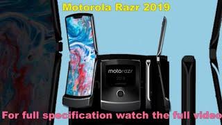 motorola razr 2019 with full specification