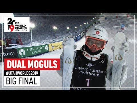 Mikael Kingsbury edges Wilson for gold | Men's Dual Moguls | FIS Freestyle Ski World Championships