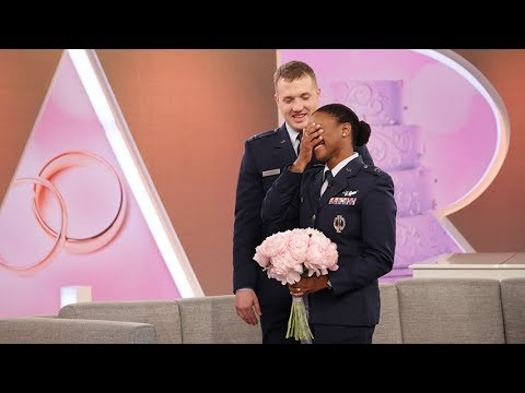 Surprise Military Wedding!