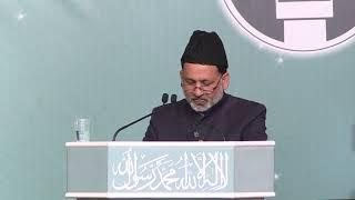 Ansarullah UK Ijtema 2018 Day 1 Maulana Rana Mashood Speech