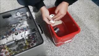 DHI Milk Sampling with the Delaval Robot & ORI Sampler: Cleaning the ORI Sampler