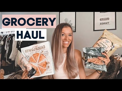 TRADER JOES & ALDI GROCERY HAUL 2020 // My Favorite Healthy Dairy + Gluten Free Food Items