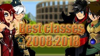 AQW - Best classes in AQW since 2008 till 2018 (Farming/Soloing/PvP)