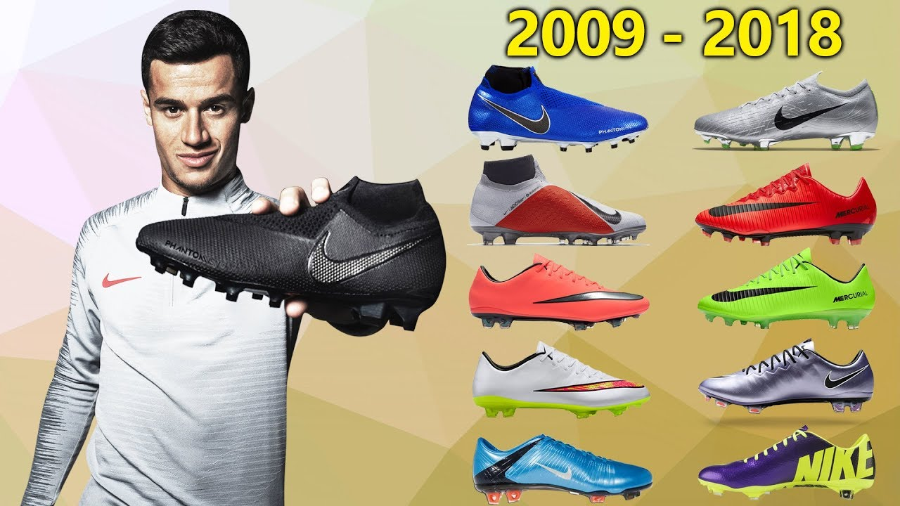 6e2c0a2a0 Philippe Coutinho - New Soccer Cleats   All Football Boots 2009-2018 ...