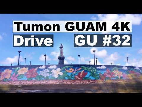 Tumon GUAM in 4K.  Drive Guam # 32.