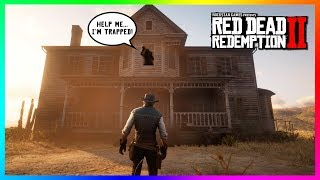 There Is Something Hidden Inside Of The Haunted Tumbleweed Mansion In Red Dead Redemption 2! (RDR2)