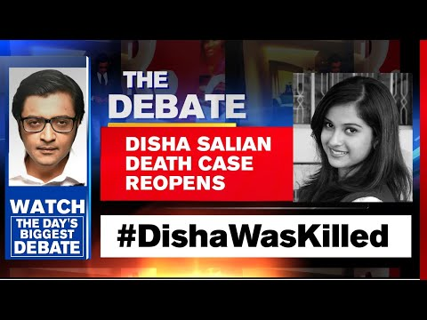 Disha Salian's Case Reopens: Rhea Chakraborty's Role Under Lens | The Debate With Arnab Goswami