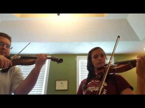 Sakura, Sakura. violin duet