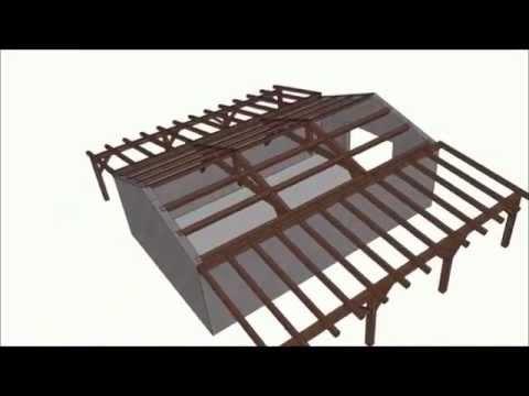 ff Drvna konstrukcija krova i nadstrešnice