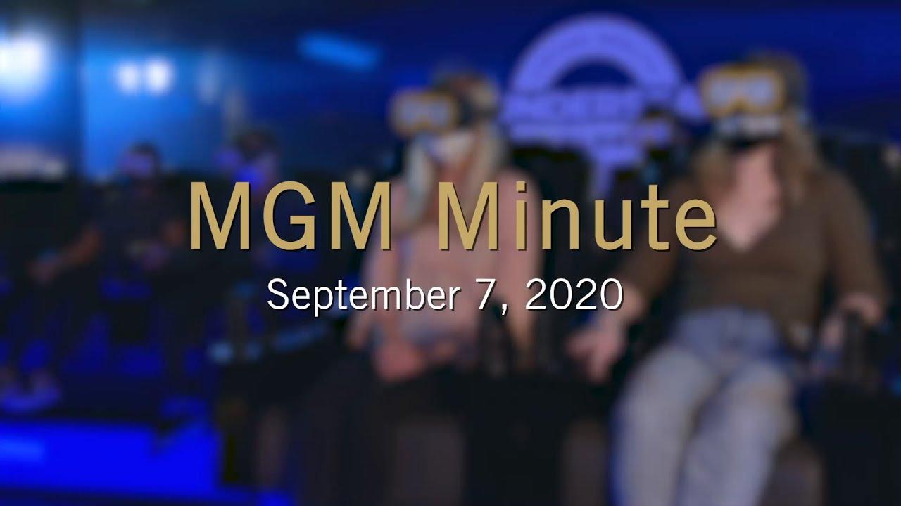 #MGMMinute | September 7, 2020 | MGM Resorts
