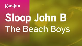 Karaoke Sloop John B - The Beach Boys *