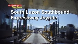 Pinoy Joyride - South Luzon Expressway (Southbound) - STAR Tollway Joyride 2015