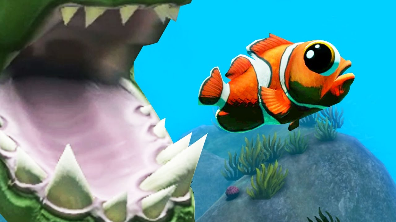 Finding nemo new feed and grow fish update part 20 for Fish and grow